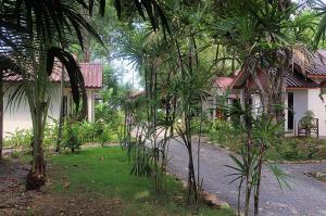 Zahrada ubytování Thai House Beach Resort