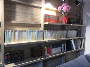 Biblioteca en el hotel
