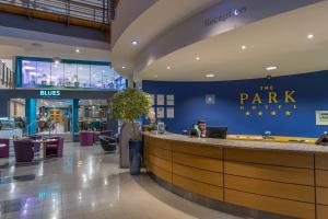 The lobby or reception area at The Park Hotel