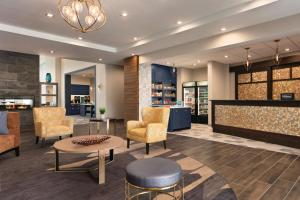The lobby or reception area at Homewood Suites By Hilton Horsham Willow Grove