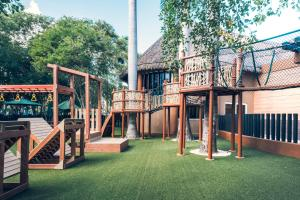 Children's play area at Iberostar Selection Paraiso Maya Suites