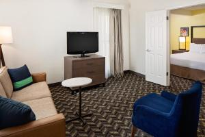 A television and/or entertainment center at Residence Inn Sunnyvale Silicon Valley I