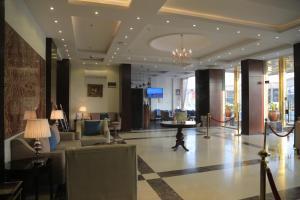 منطقة الاستقبال أو اللوبي في Asaal Apart-Hotel