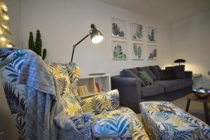 Posezení v ubytování Apartment Lucky 13 Zagreb