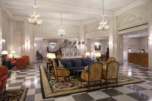 El vestíbulo o zona de recepción de Hotel Le Plaza Brussels