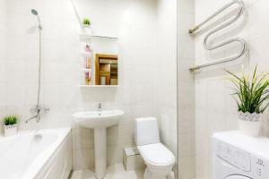 Ванная комната в Апартаменты Аврора