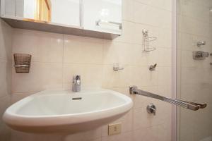 Koupelna v ubytování Castellani Livigno Apartments