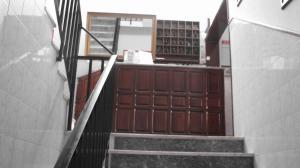 The lobby or reception area at Residencial Porto Novo - Alojamento Local