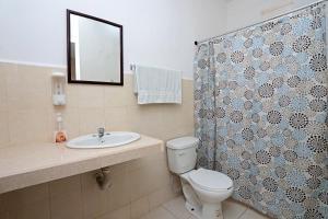 Ein Badezimmer in der Unterkunft Casa de Ana
