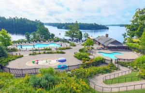 A view of the pool at JW Marriott The Rosseau Muskoka Resort & Spa or nearby