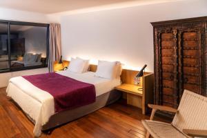 Cama o camas de una habitación en Aire Hotel & Ancient Baths