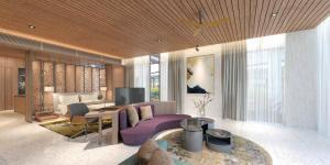 A seating area at Katamaran Hotel & Resort