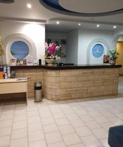 The lobby or reception area at Hotel Kalithea