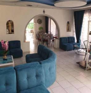 A seating area at Hotel Kalithea