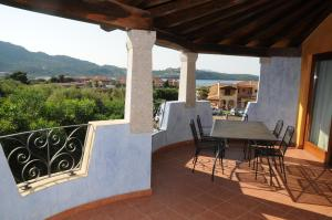 A balcony or terrace at Il Borgo Di Punta Marana