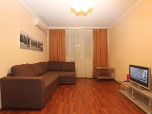 Гостиная зона в ApartLux Ярославская