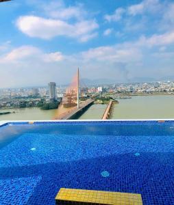 The swimming pool at or near Fivitel Da Nang