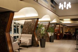 The lobby or reception area at Normandy Hotel (Near Glasgow Airport)