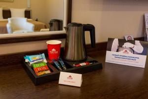 Принадлежности для чая и кофе в Конгресс-отель Россия