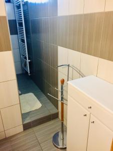 Kúpeľňa v ubytovaní Privát Majo