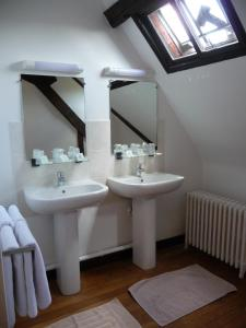 Salle de bains dans l'établissement Abbaye de Valloires