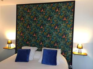 Cama o camas de una habitación en Mont B&B