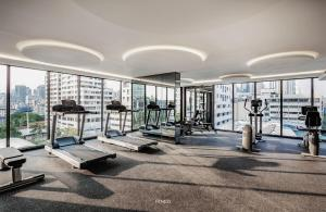The fitness center and/or fitness facilities at circle rein