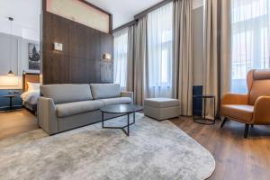 Posezení v ubytování Radisson Blu Hotel Prague
