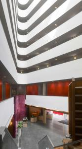 The lobby or reception area at Radisson Blu Hotel, Liverpool