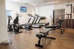 Фитнес-центр и/или тренажеры в Park Inn by Radisson Novokuznetsk