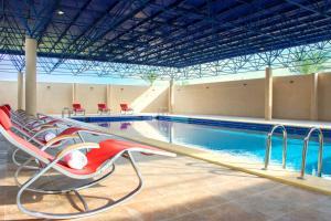 A piscina localizada em Radisson Blu Resort, Al Khobar Half Moon Bay ou nos arredores
