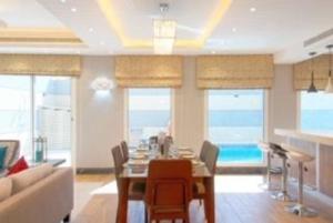 مطعم أو مكان آخر لتناول الطعام في Solis Villa Resort Riyadh