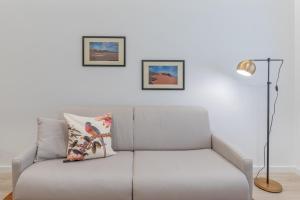 Area soggiorno di Pigneto Delightful Apartment
