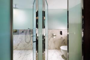 A bathroom at WOLO Kuala Lumpur