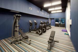 The fitness center and/or fitness facilities at Aloft Orlando Downtown