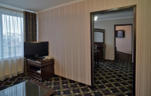 A television and/or entertainment center at Hotel Mir