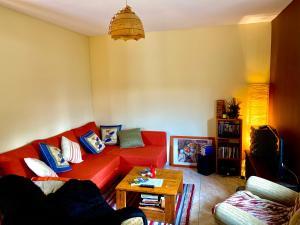 Zona de estar de Casa Dono Sanabria