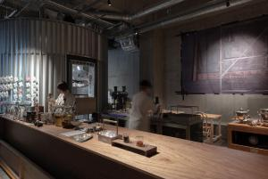 A restaurant or other place to eat at TSUGU Kyoto Sanjo by THE SHARE HOTELS