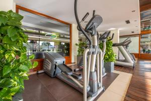 The fitness center and/or fitness facilities at Wellness Hotel Diplomat