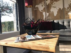 A seating area at Apple Tree Guest House