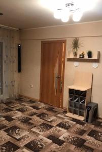 Кровать или кровати в номере Ekaterina Apartment