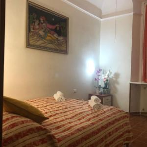 Letto o letti in una camera di Marcelina