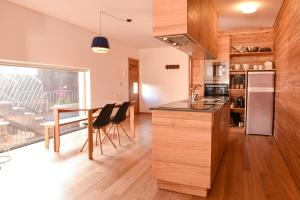 A cozinha ou kitchenette de Porto Pim Bay
