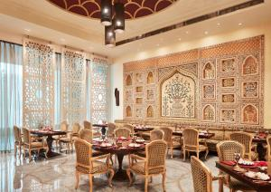 A restaurant or other place to eat at Taj Hotel & Convention Centre Agra