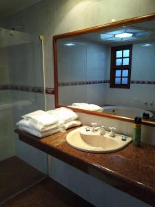 A bathroom at Magnus Norte Hotel (Adult Only)