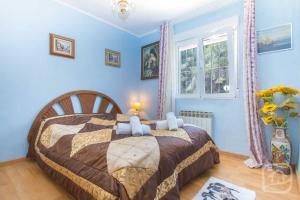 Cama o camas de una habitación en Villa Advocat