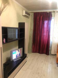 Телевизор и/или развлекательный центр в 2 комнатные Apartment on Strelkovoy Divizii
