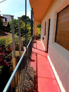Un balcón o terraza en Apart Hotel Sahara