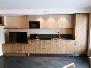 Cucina o angolo cottura di Rasia Residence Relax