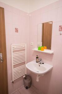 Kúpeľňa v ubytovaní Penzión Krahule